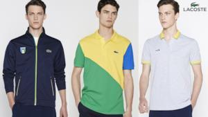 Lacoste nuova collezione per i Mondiali di Calcio 2014