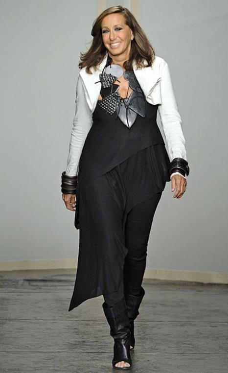 La stilista americana Donna Karan una delle prime a parlare di capsule collection