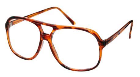 su ASOS occhiale vintage tartarugato