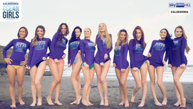 Le 10 ragazze di Ocean Girls il nuovo reality di Sky Uno