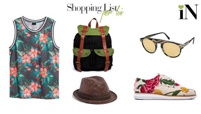 Shopping list per lui della settimana per la summer 2014