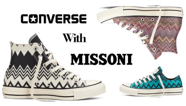 La nuova collezione di Coverse by Missoni