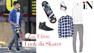 L'outfit di Zac Efron per il avere il giusto stile da skater