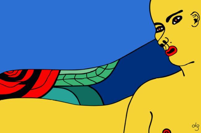 Lia Bosch  e l'arte