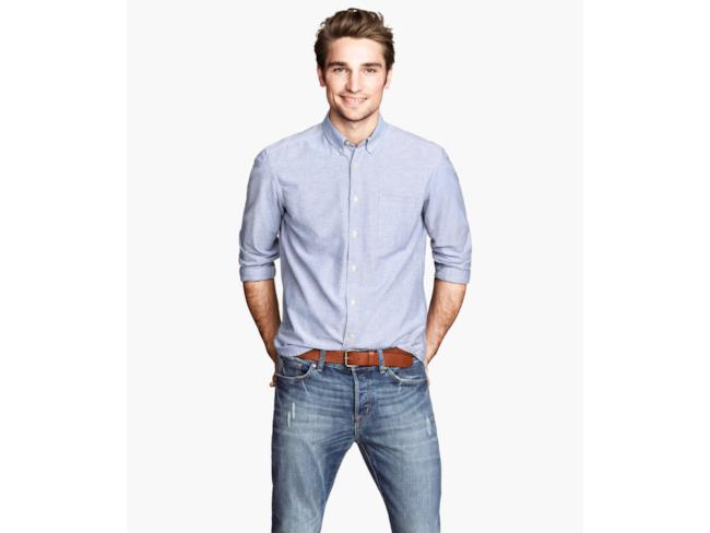 H&M camicia Oxford