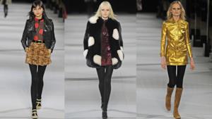 Saint Lauren conosce un nuovo stile per la Paris Fashion Week 2014