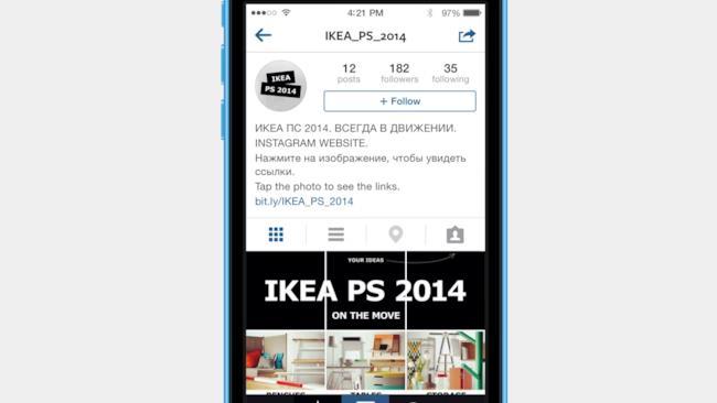 La nuova idea di Ikea è portare il suo catalogo 2014 su Instagram