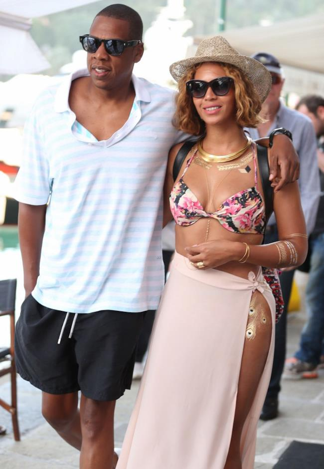 Beyonce e Jay Z a Portofino per un week romatico