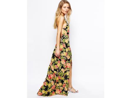 best service 98b78 50556 Saldi estivi 2014 abiti fiorati: abito lungo a fiori in ...