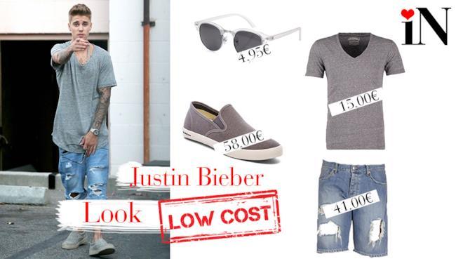 Il look low cost per assomigliare a Justin Bieber