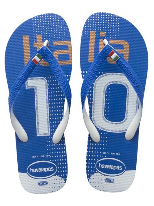 Modello Italia di infradito by Havaianas per i Mondiali di Calcio 2014
