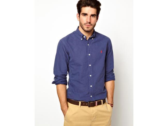 Camicia in tessuto Oxford