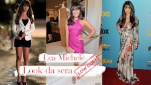 I 5 migliori look da sera di Lea Michele, la cantante di Glee
