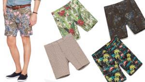 Per i saldi estivi una selezione degli shorts da uomo per l'estate 2014