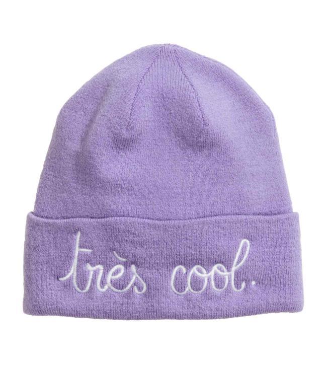 Shopping list della settimana: berretto con ricamo di H&M per l'inverno 2014