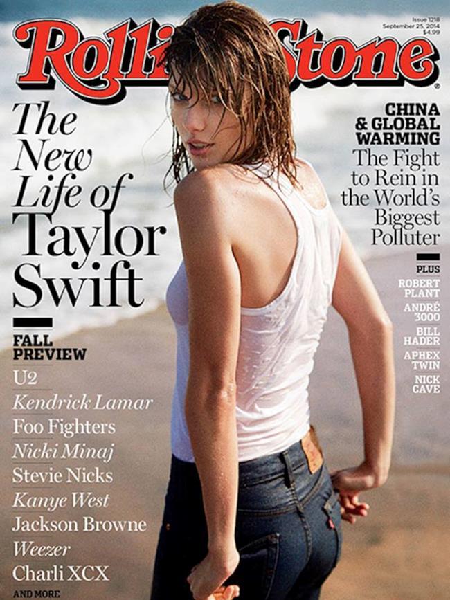 Taylor Swift è sulla copertina del Rolling Stone