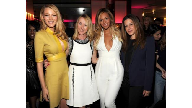 Beyoncé, Blake Lively e Frida Giannini al Chime for Change 2014