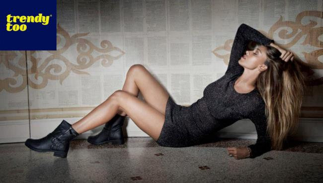 Belen Rodriguez nuova campagna per Trendy Too