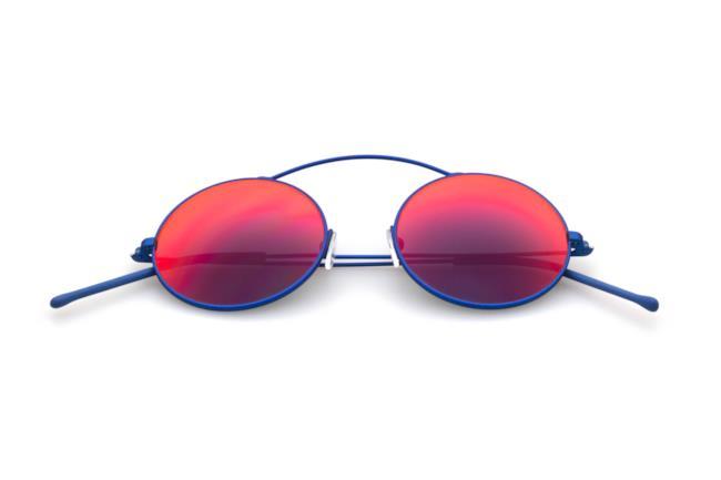 Occhiale da sole specchiato per la shopping list da uomo