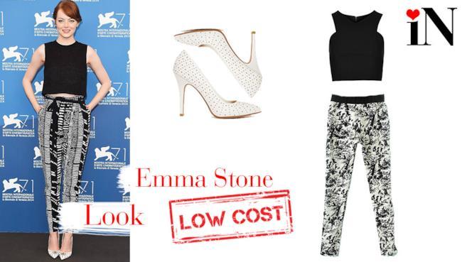 L'outfit da red carpet di Emma Stone per il Festival di Venezia 2014