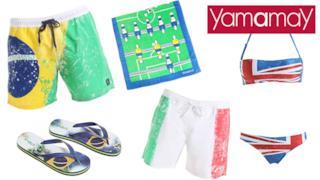 Yamamay crea una collezione per la FIFA World Cup da indossare durante l'estate 2014