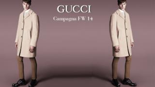 La nuova campagna per la fall winter collection uomo di Gucci