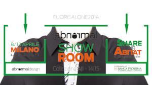Arriva la moda di Abnormal a conquistare il Salone del Mobile 2014