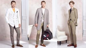 London Fashion Week 2014: Dunhill look book S/S 2015