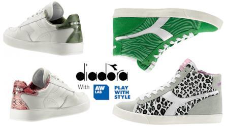 Diadora sneakers 2015   summer collection esclusiva   AW LAB