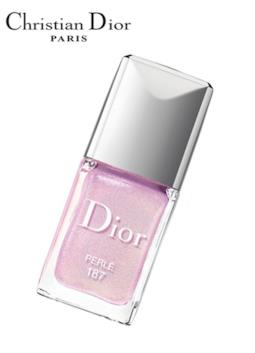 La collezione limited edition di Dior Vernis Trianon Collection codice 187 Perle