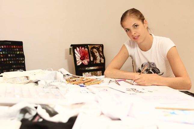 La collezione di t-shirt di Carolina Kostner per l'estate 2014