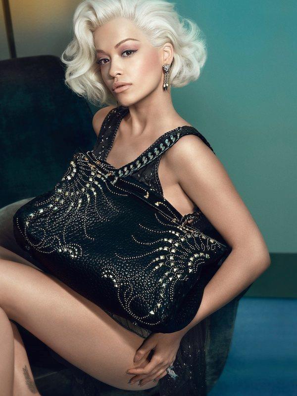 Rita Ora è la testimonial di Roberto Cavalli nella campagna autunno inverno 2014