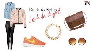 L'outfit da it girl per affrontare con glamour i primi giorni di scuola