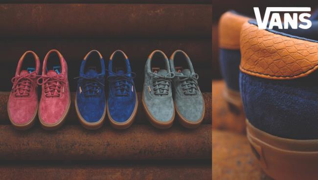 """La nuova collezione di Vans California Era 59 """"Gum Sole"""" Pack per la summer 2014"""