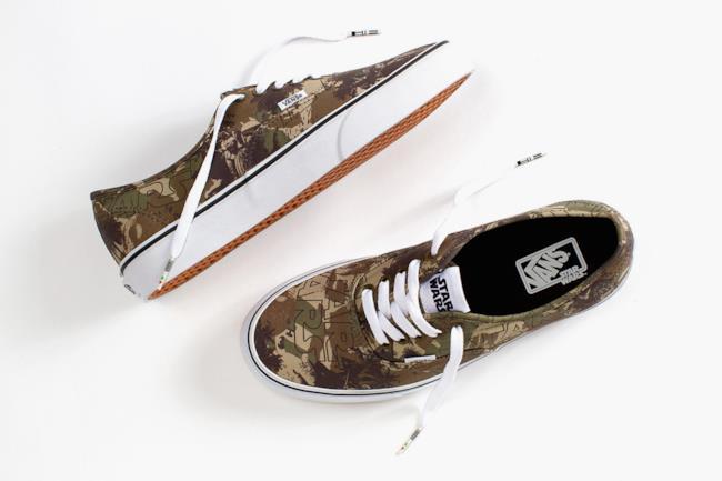 Vans x Star Wars la nuova collezione di scarpe, modello Star Wars Authentic