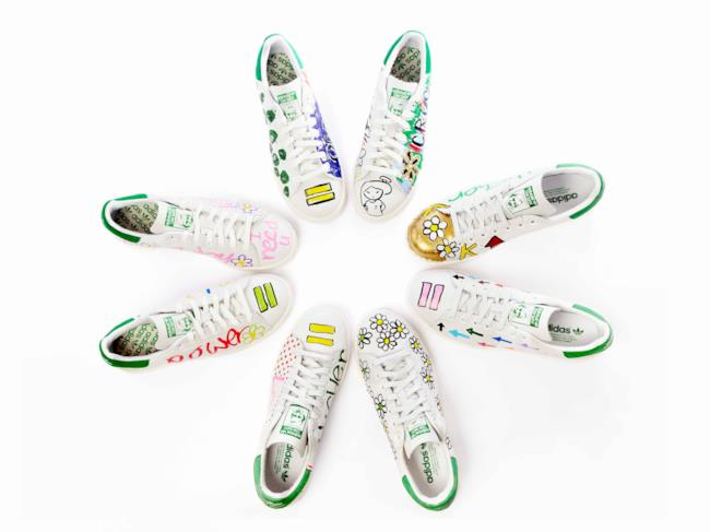 Pharrell personalizza le Stan Smith dell'Adidas