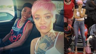 Nuovo look per Rihanna: opta per un hairstyle rosa shocking