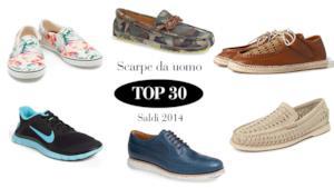 Scarpe da uomo 2014: la top 30 delle migliori scontate per i saldi estivi