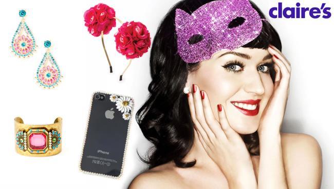 Prism è la nuova linea di gioielli creata da Katy Perry con Claire's