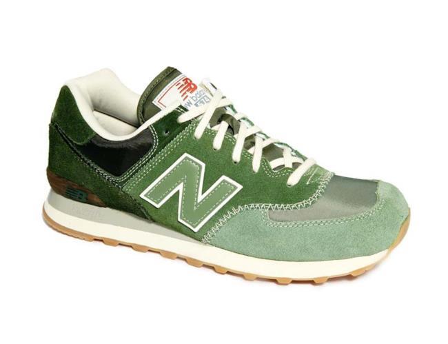 Scarpa New Balance 574 verde per l'estate 2014