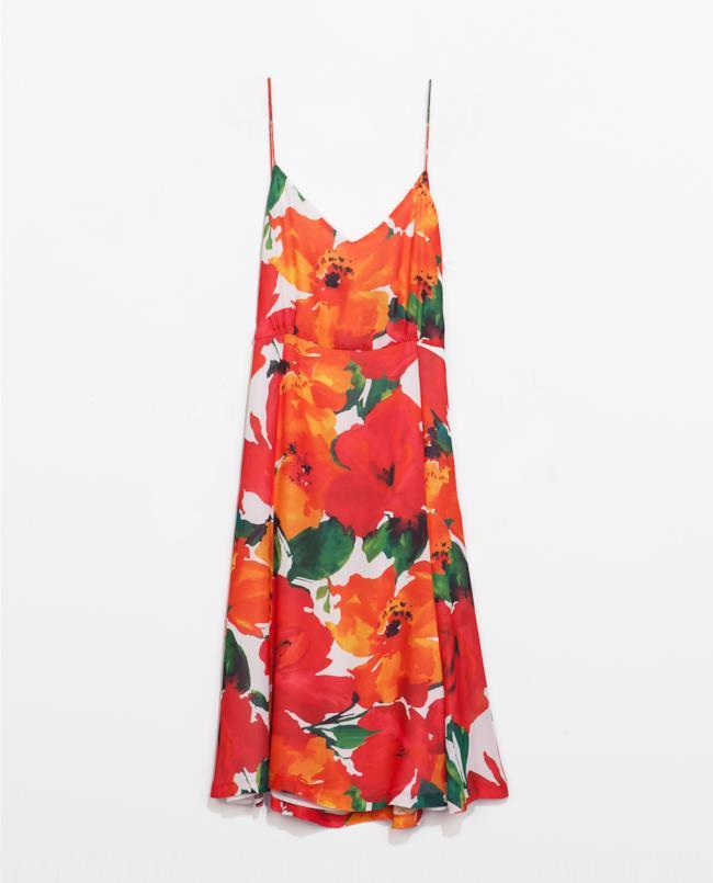 Abito perfetto per la summer di Zara scontato per i saldi estivi 2014