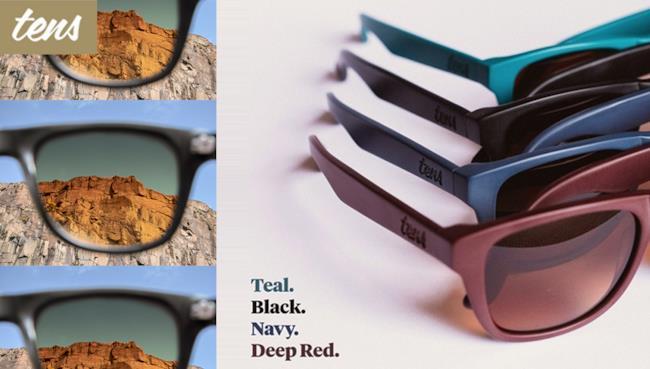 Tens è il nuovo progetto di occhiali da sole in modalità Instagram
