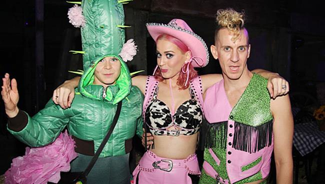 Jeremy Scott con Katy Perry