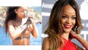Rihanna fotografata da Melissa Forde in bikini mentre fuma uno spinello