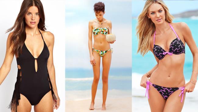 La top 10 dei costumi più in per quest'estate 2014