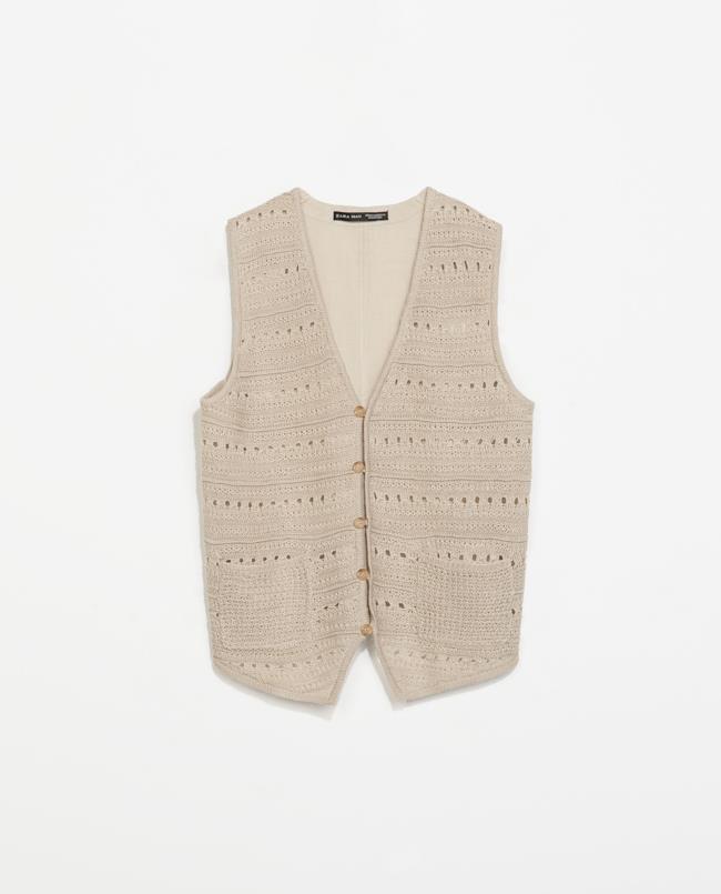 Saldi estivi 2014 il gilet stile anni '20 di Zara