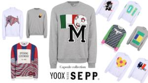 Per i mondiali di calcio 2014 Yoox collabora con SEPP magazine creando una capsule collection