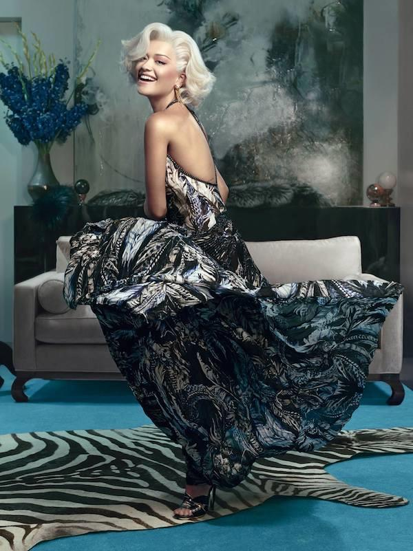 Rita Ora per Roberto Cavalli Fall Winter 2014