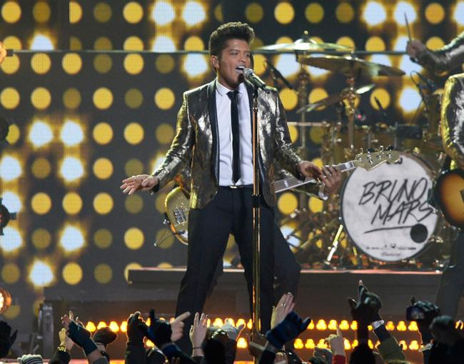 Bruno Mars al Super Bowl 2014