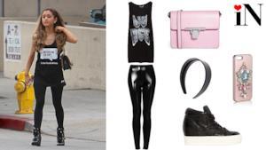 L'outfit in stile Ariana Grande